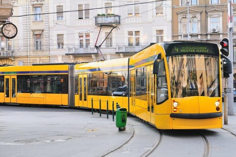 трамваи в Венгрии