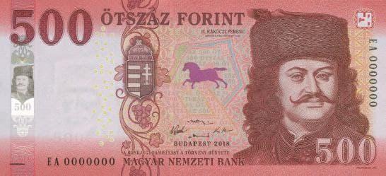 венгерская купюра