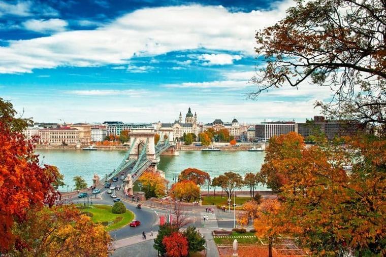 Венгрия осенью